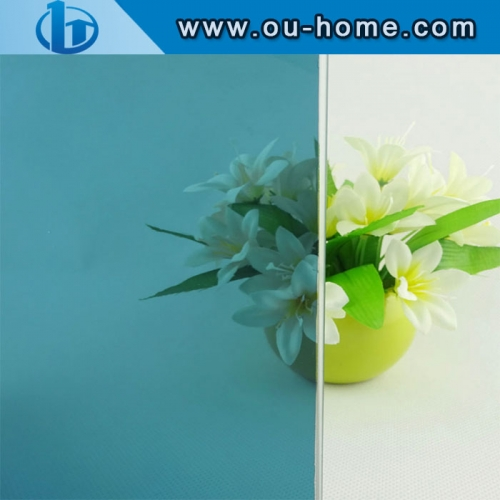 Frosted Colorful Glass Decorative Building Window Tinting Film
