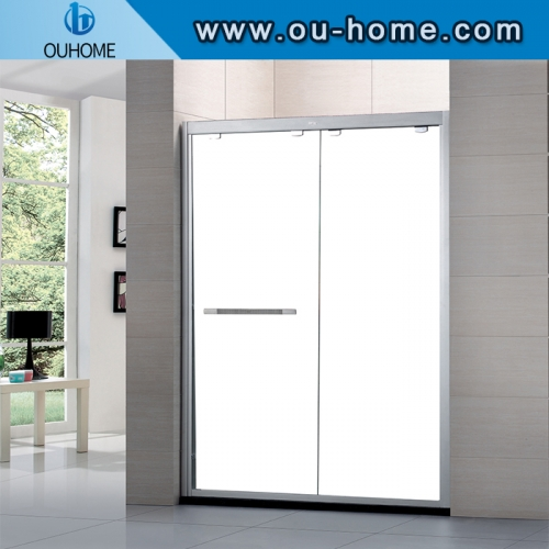 PET Tempered Glass Shower Room Shower Cabin With Explosion-proof Film
