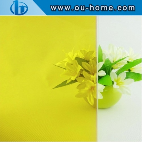 Tinting Frosted Self-adhesive Decorative PVC Material Window Glass Film