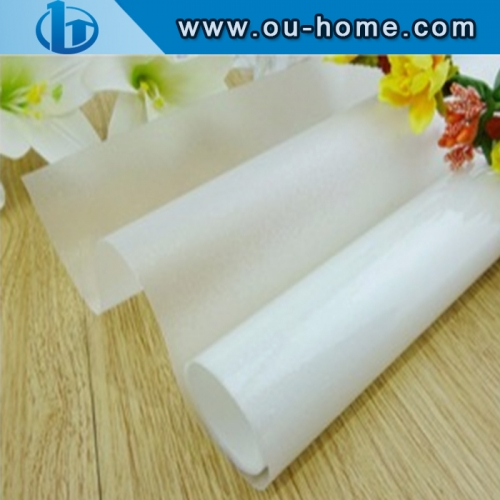 Multi-function White Frosted PVC Window Tint Glass Film PVC Decorative Window Film