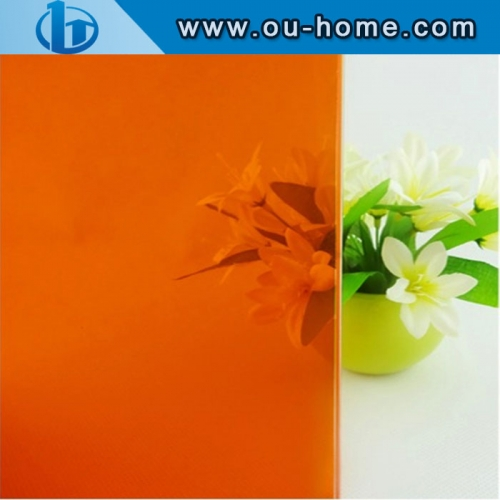 Frosted Translucent Glass PVC Decorative Window Tinting Film