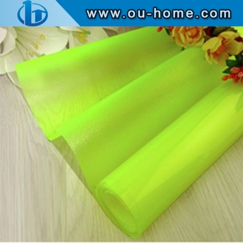 Translucent Color PVC With Glue Glass Door/Window Decorative Tinting Film