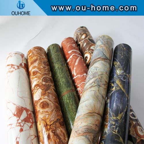 Self-Adhesive marble design furniture decoration sticker
