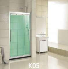 Self-adhesive decorative glass explosion-proof glass film for barthroom
