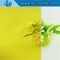 Vinyl transparent tinting PVC glass window film with glue