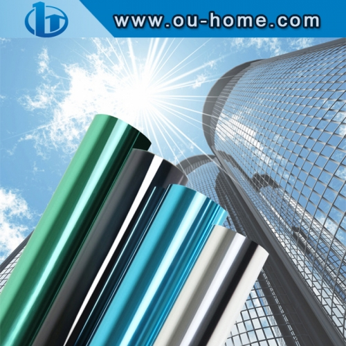 UV Reflective One Way Insulation Solar Tint Window Film Stickers Privacy Decoration For Glass