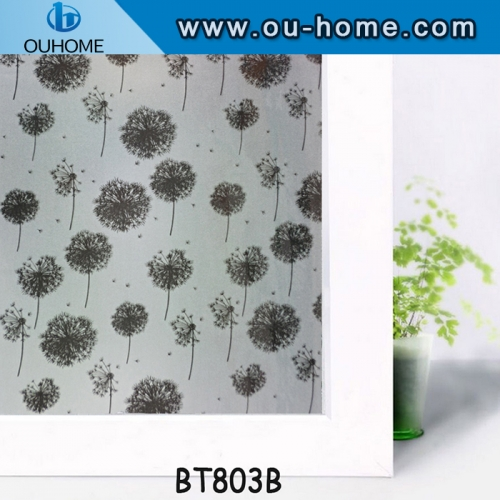 BT803B Home window tinting frosted glass film