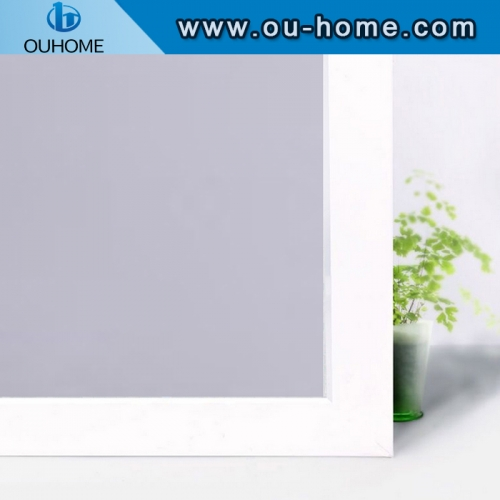 BT115 Frosted Colorful Glass Decorative Building Window film