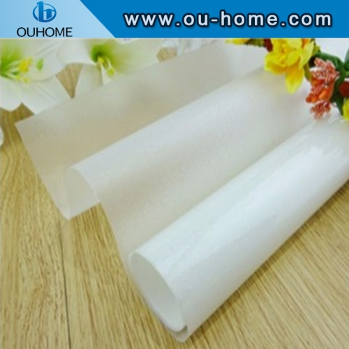 BT902 Multi-function White Frosted PVC Window Tint Glass Film PVC Decorative Window Film