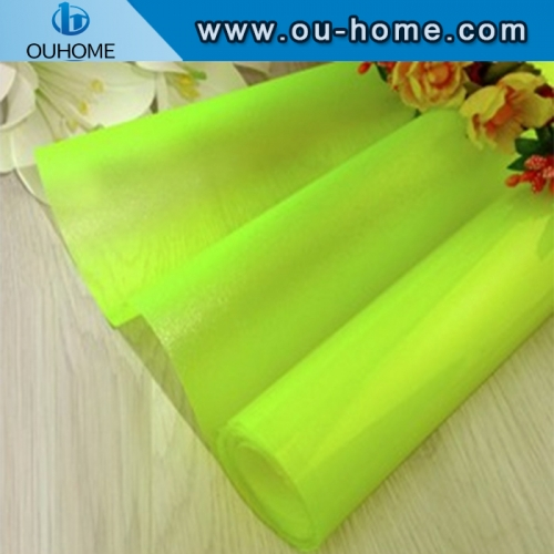 BT911 Translucent Color PVC With Glue Glass Door/Window Decorative Tinting Film