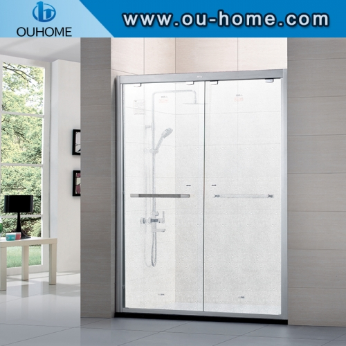 K02 Shower room glass with Explosion proof film