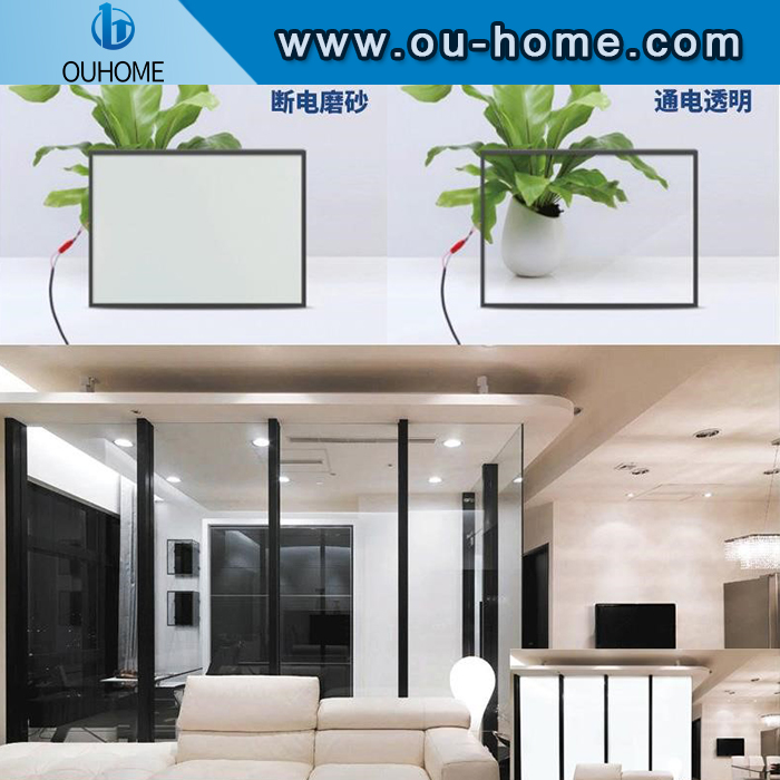 Intelligent high security adjustable motorized window film