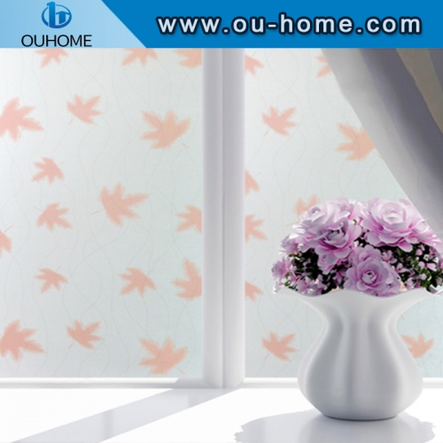 BT815 PVC self-adhesive frosted film for glass