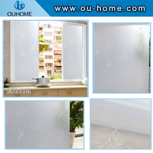 BT830 Frosted self-adhesive glass privacy film