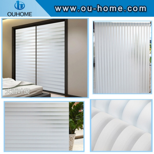 BT828 Office glass privacy PVC self-adhesive frost film