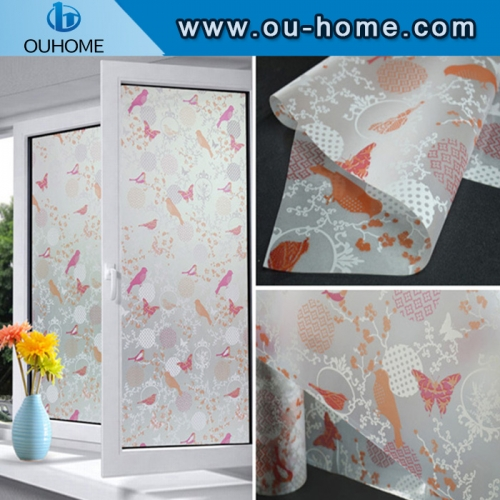 BT826 Self-adhesive decorated home window tinting film