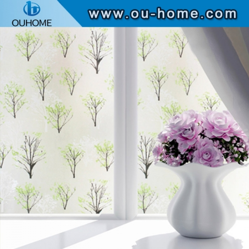 BT827 Home privacy stained window frosting