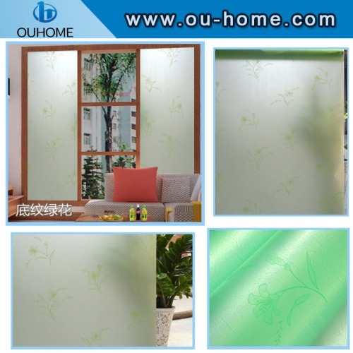 BT831 Green frosted decorative window insulation film