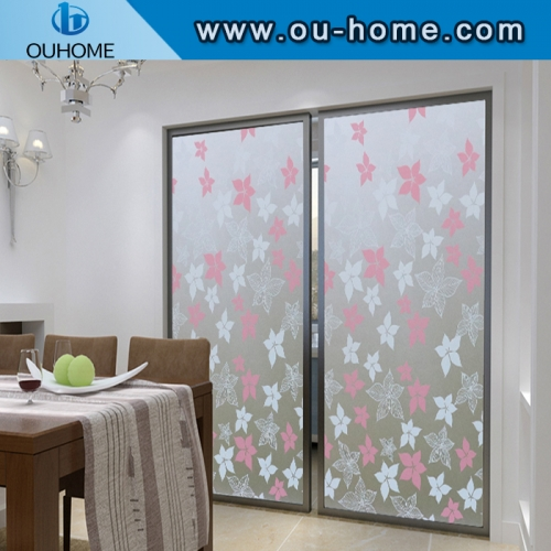 BT840 PVC stained window tint film for home