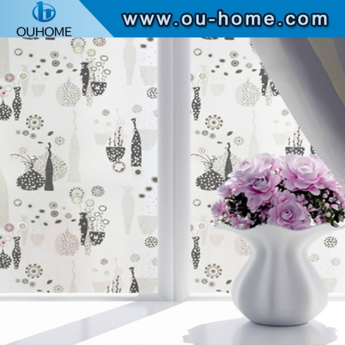 BT841 Home privacy stained translucence window film
