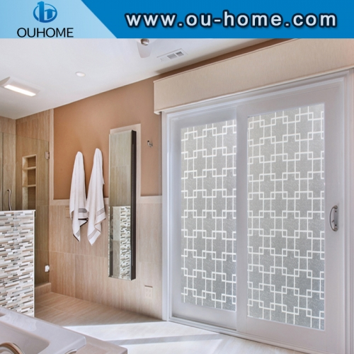 BT849 hot sale self adhesive stained glass window film / privacy window film