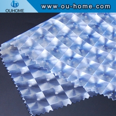 BT921 Waterproof 3D cat eye light blue decorative film