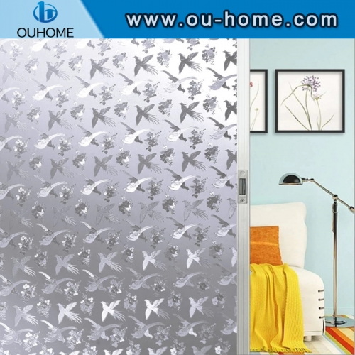 H16806 Non-Glue 3D Static Waterproof window film
