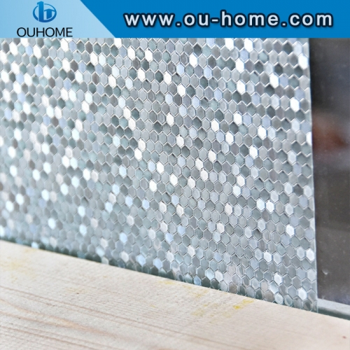 H4506 Non-adhesive static window decorative glass film