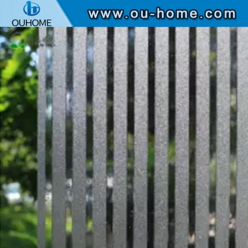 H076 Office decorative embossed static window film