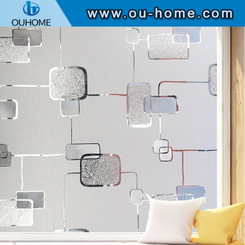 H12206 Home privacy protection Static cling window glass film