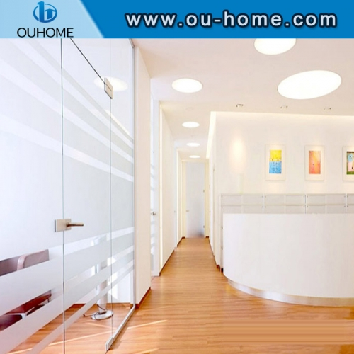 H058 Removable non-adhesive decoration frosted static window film