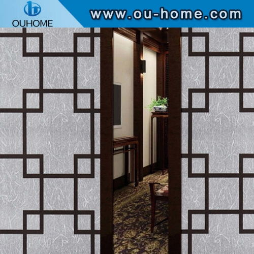 BT850 Non-transparent window film decorative frosted safety glass films