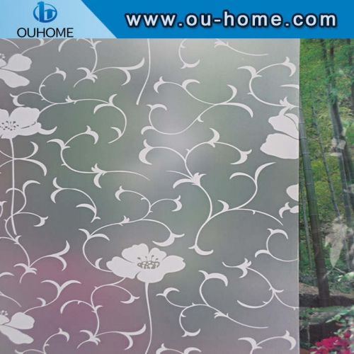 BT865 Stained Glass Privacy Self-Adhesive decorative sticker film
