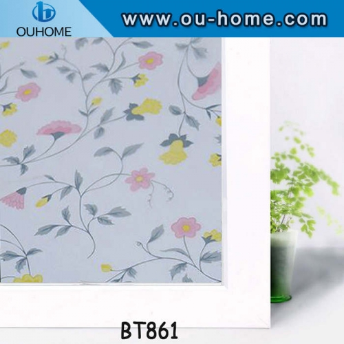BT861 Glass decorative frosted privacy window film