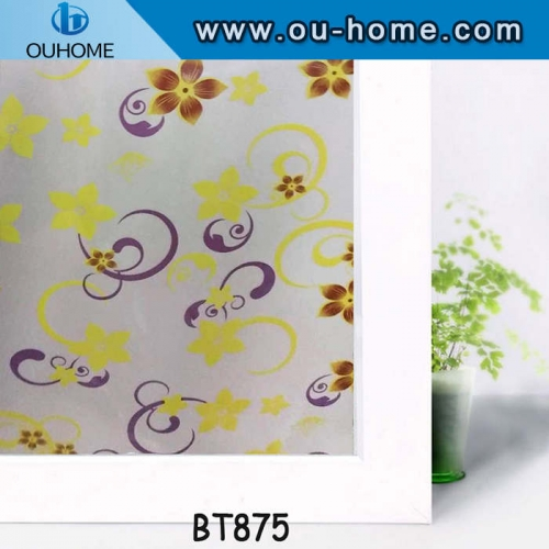 BT875 Decorative frosted window film
