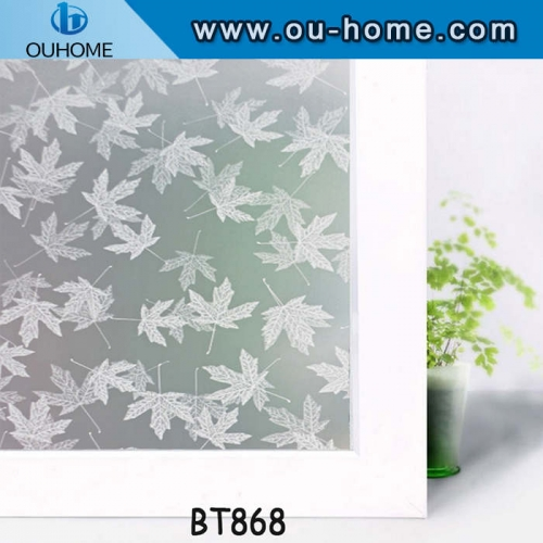 BT868 PVC Frosted privacy decorative window film