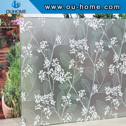 BT863 Removable decoration window tinting film