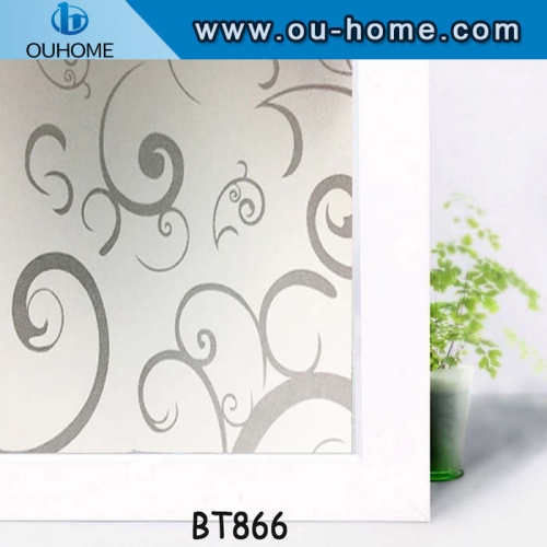 BT866 Professional frosting privacy tinting window film