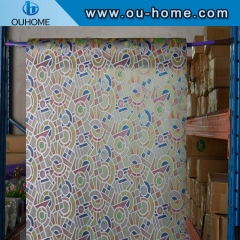 BT881 Decorative stained glass vinyl window film