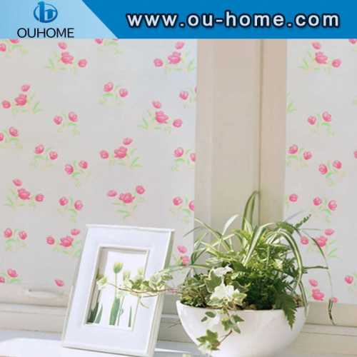 BT882 Flower designs window protection film