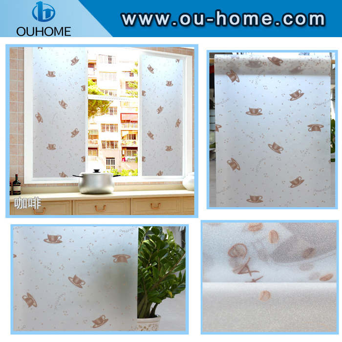 8014 Kitchen glass decorative window films