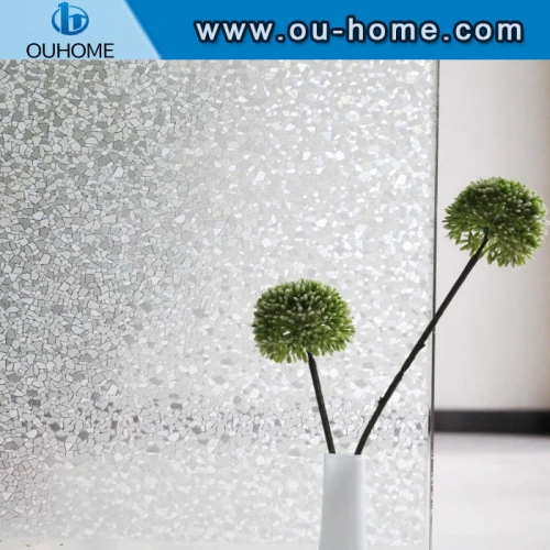 H088 Non-sticky electrostatic adsorption bathroom partition window film
