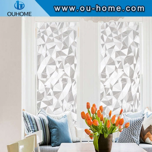 H613 Embossed frosted non-adhesive static glass film