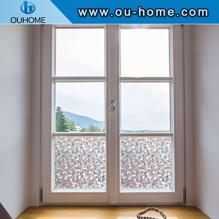 H4206 Opaque Frosted Static Privacy Glass Stickers