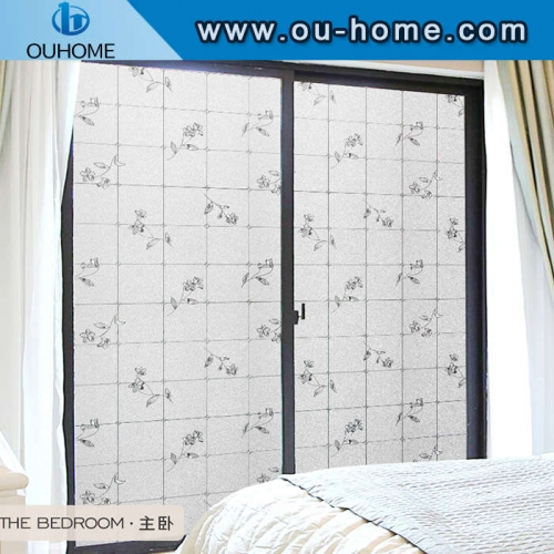 H6906 Removable static embossed glass film